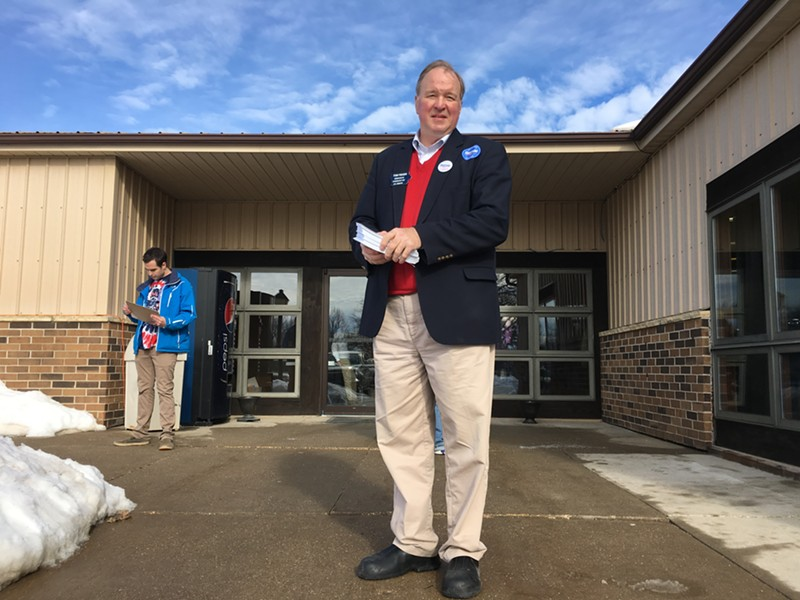 Iowa Senate candidate Tom Fiegen - PAUL HEINTZ
