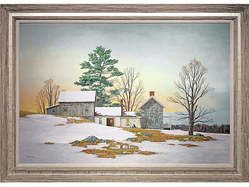 """Spring's Arrival"" by Fred Swan - COURTESY OF CHUCK WOLF/ROBERT PAUL GALLERIES"