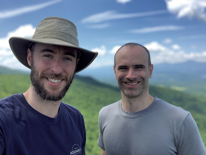Matthew Parrilla (left) and Brian Holdefehr - COURTESY OF RAMBLE MAPS