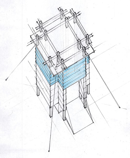 Ice shanty plans by S2 Architecture