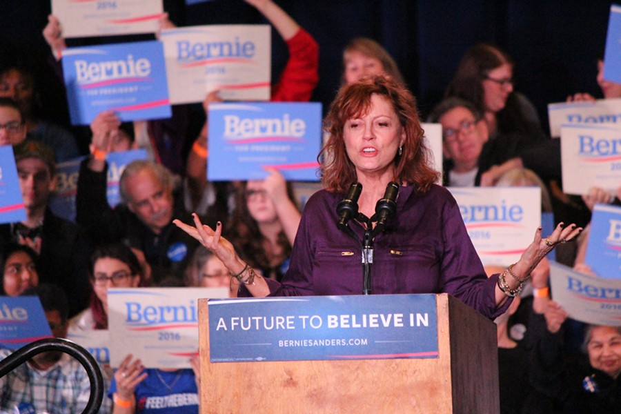 Susan Sarandon in Sparks, Nevada - PAUL HEINTZ