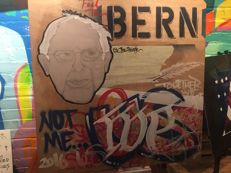 Bernie art by Anthill Collective - SADIE WILLIAMS