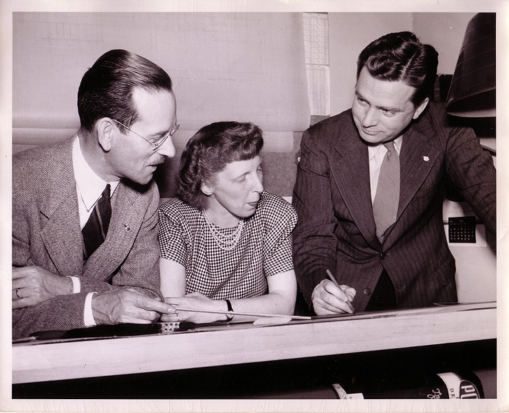Left to right: John French, Ruth Reynolds Freeman, William Freeman - COURTESY OF DEVIN COLMAN