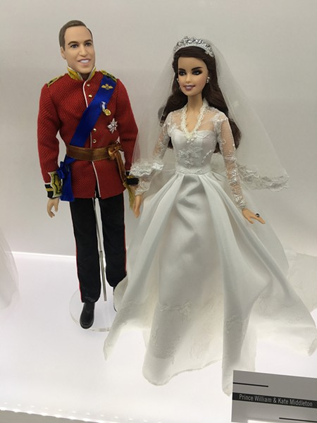 Prince William and Kate Middleton Barbies