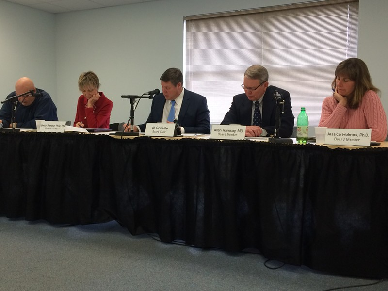 The Green Mountain Care Board split over how UVMMC and Central Vermont Medical Center should distribute excess revenues. - NANCY REMSEN