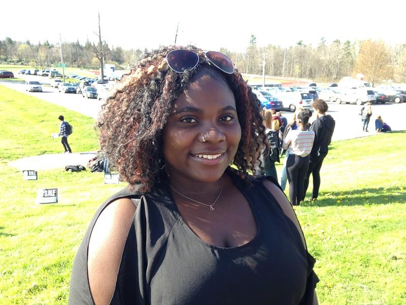 Eliza Abedi, Burlington High School sophomore - MOLLY WALSH