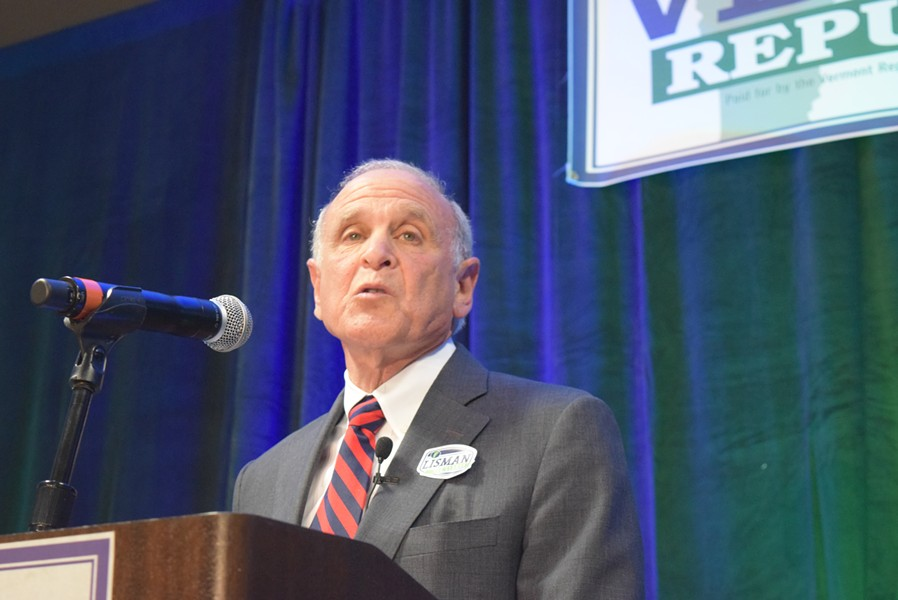 Republican gubernatorial candidate Bruce Lisman - TERRI HALLENBECK