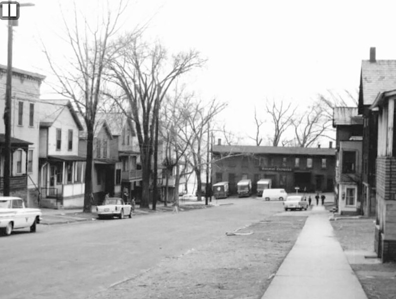Lower Cherry Street, 1958 - COURTESY OF ADELE DIENNO