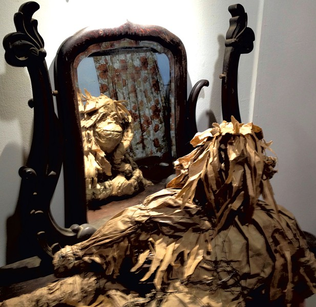 """""""Animal Mirror"""" by Cate Kelly - MOLLY ZAPP"""