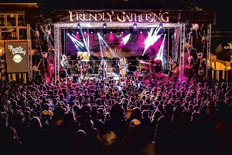 Twiddle performs at last year's Frendly Gathering - COURTESY OF ALI KAUKAS
