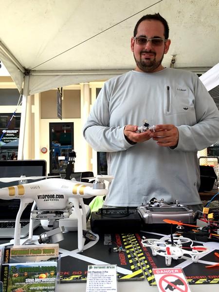 Steve Mermelstein of Vermont Drone