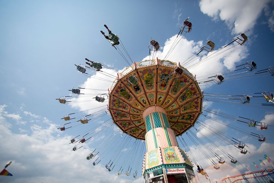 Ride at the Champlain Valley Fair - FILE: JAMES BUCK