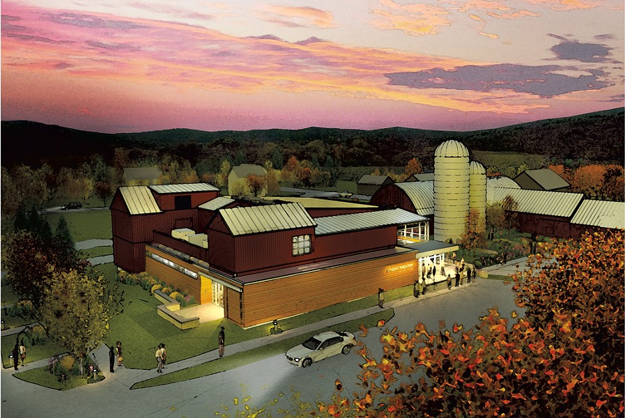 Artist's rendering of the Center for the Arts at Walker Farm - COURTESY OF WESTON PLAYHOUSE