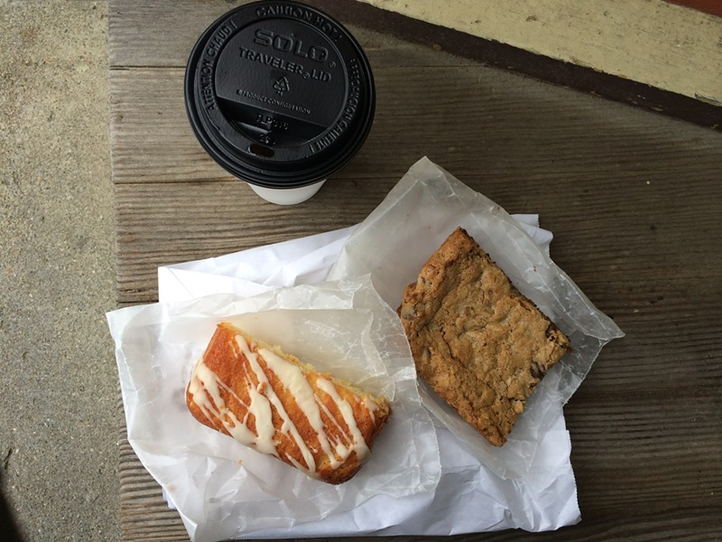 Coffee, Oatmeal-Chocolate Bar, Orange Dream Cake - JULIA CLANCY