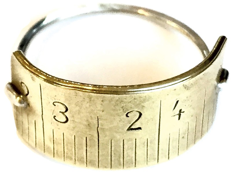 Brass Métre Band ring