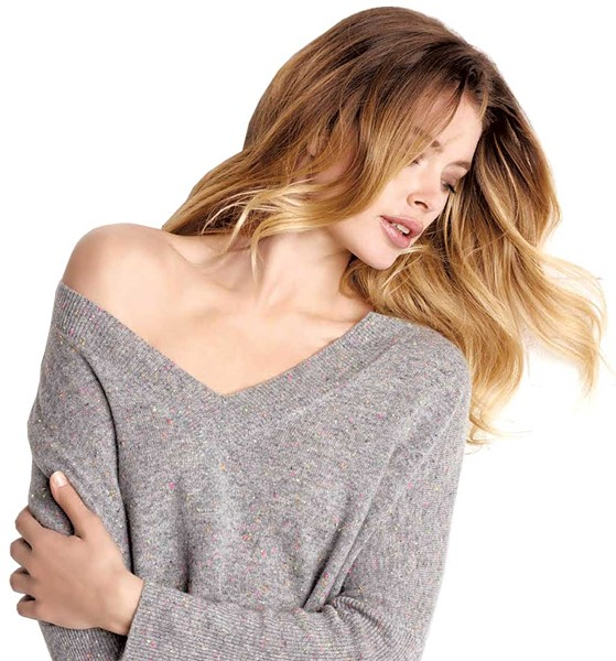 Cashmere V-Neck by Repeat