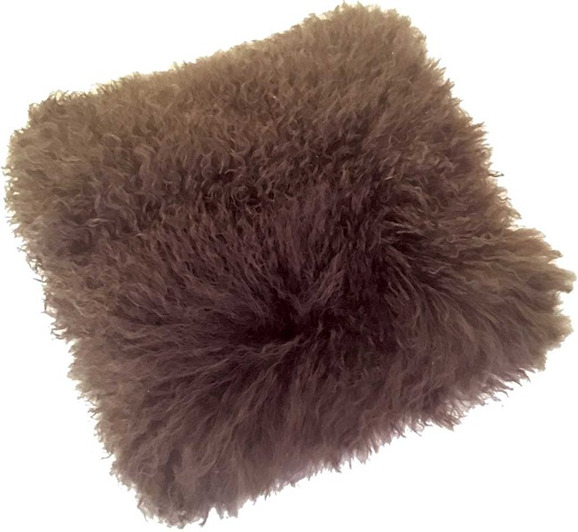 Mongolian Sheepskin Pillow