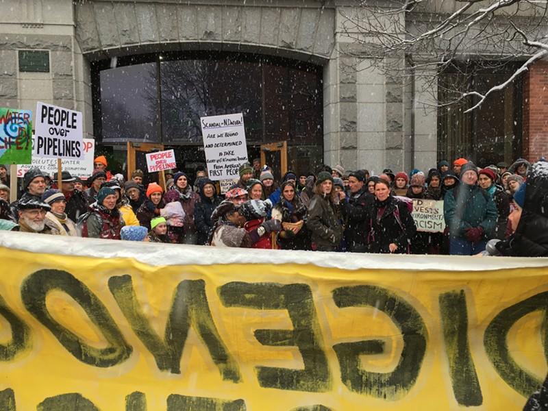 The demonstrators - RACHEL JONES