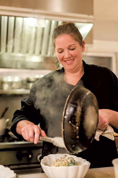 Alyssa Prouty, head chef - COURTESY OF LINDSAY SELIN