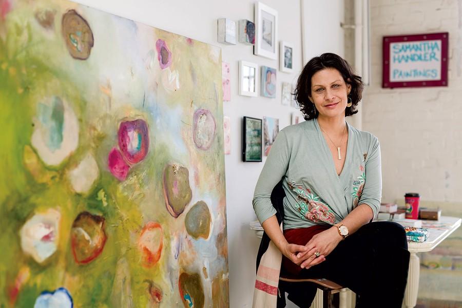 Samantha Handler - OLIVER PARINI