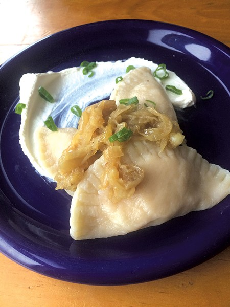 Cheesy potato dumplings - SUZANNE PODHAIZER
