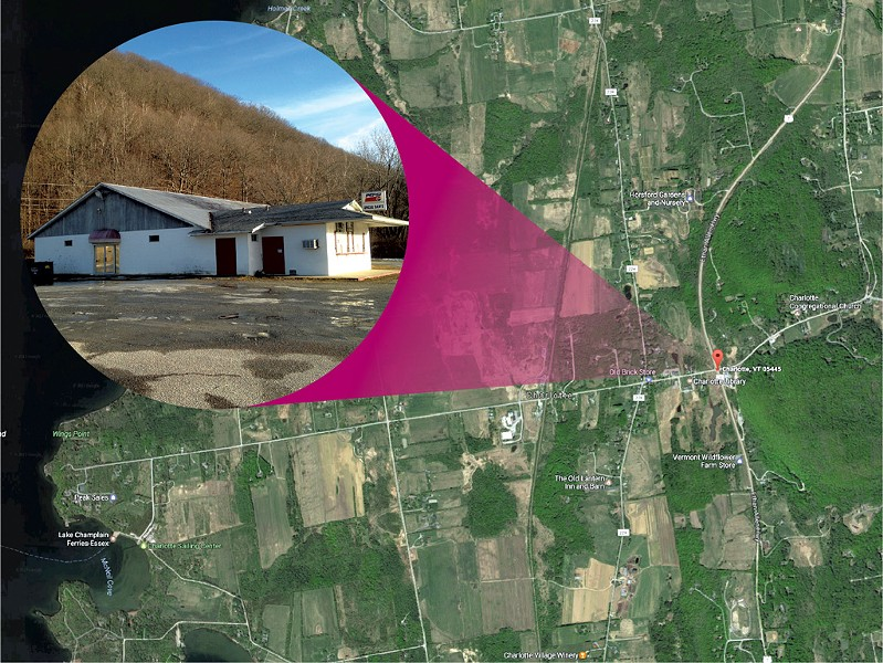 KEN PICARD AND COURTESY OF GOOGLE EARTH