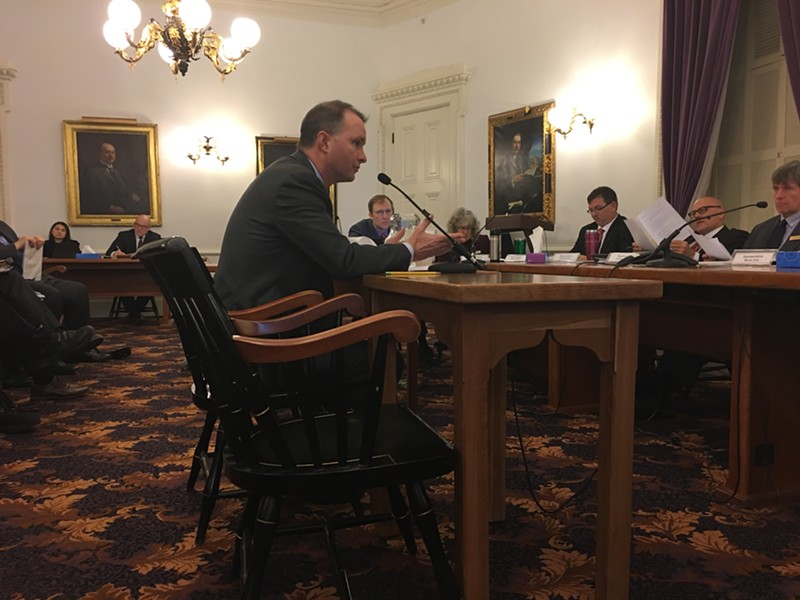 Attorney General T.J. Donovan testifying on S.79 - JOHN WALTERS