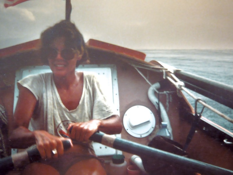 Kathleen Saville rowing to Samoa - COURTESY OF KATHLEEN SAVILLE