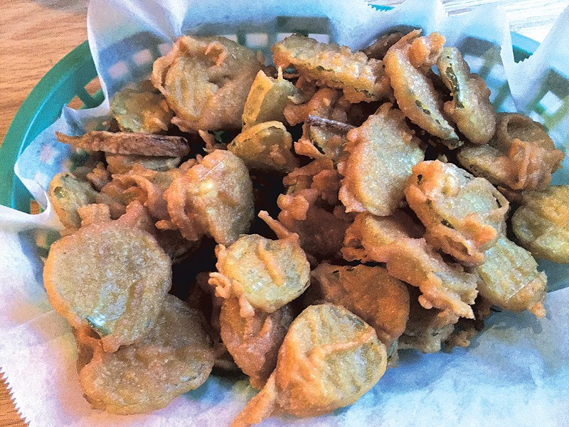 Fried pickles - HANNAH PALMER EGAN