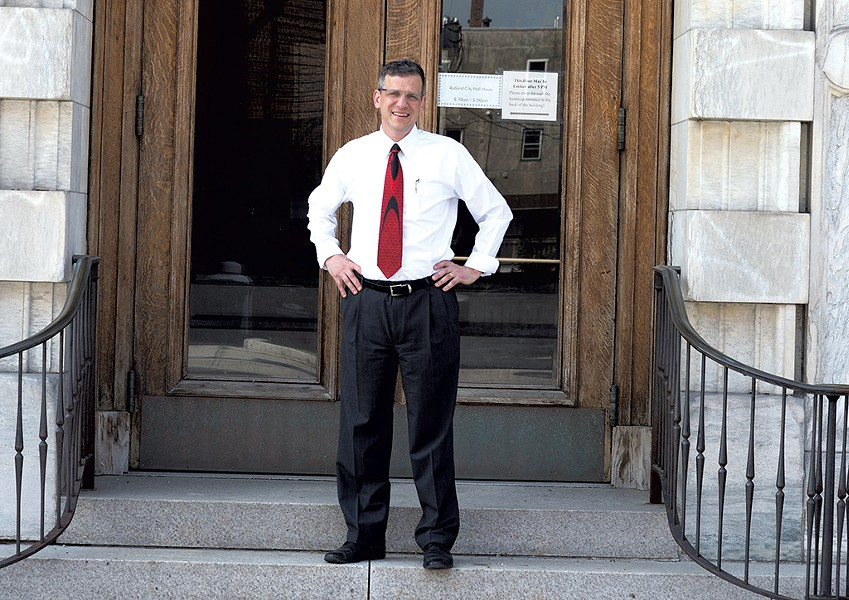 Mayor Chris Louras - FILE: CALEB KENNA