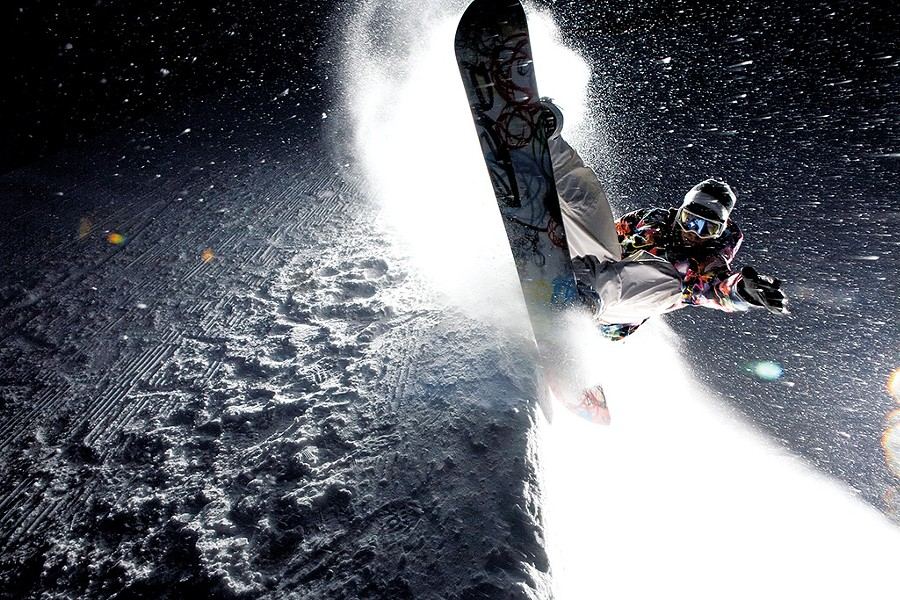 Kevin Pearce snowboarding - COURTESY OF KEVIN PEARCE