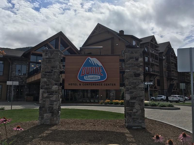 Burke Mountain Hotel & Conference Center - MARK DAVIS/FILE