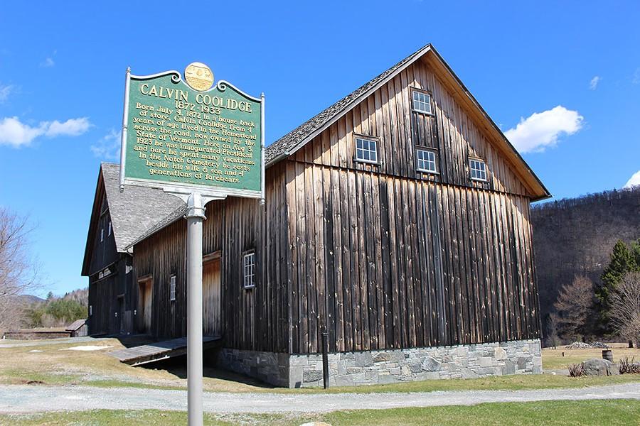 Wilder Barn at the Calving Coolidge Homestead - PAUL HEINTZ
