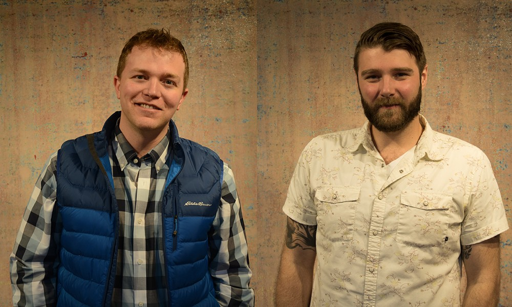 Andrew Krebbs and Andrew DesForges - BURLINGTON CITY ARTS