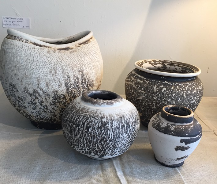Ceramics by Rik Rolla - COURTESY OF SHELBURNE CRAFT SCHOOL