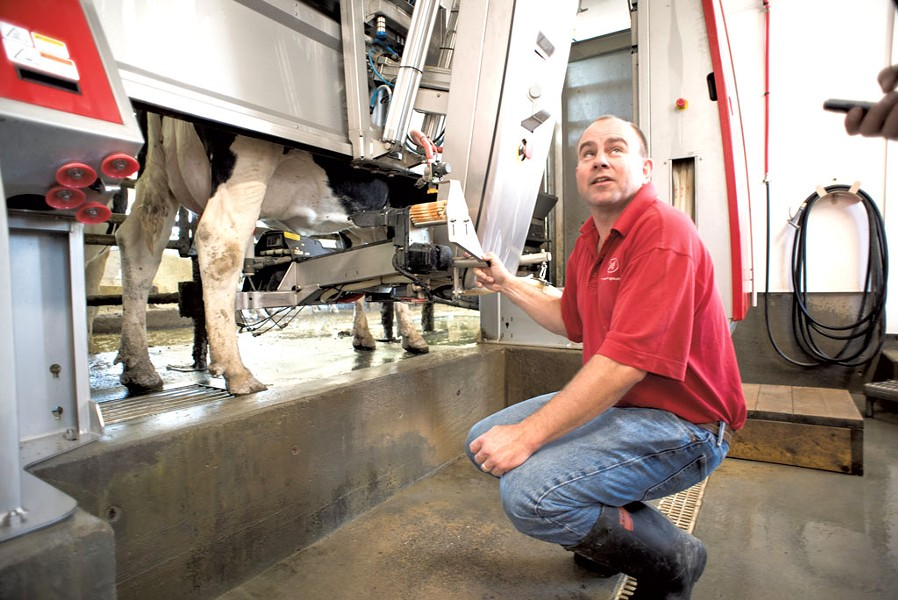 Lely Astronaut robotic milking systems - CALEB KENNA