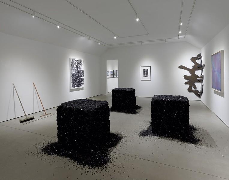 """Absolutely No Donations"" (installation) by Lara Favaretto - COURTESY OF HALL ART FOUNDATION"
