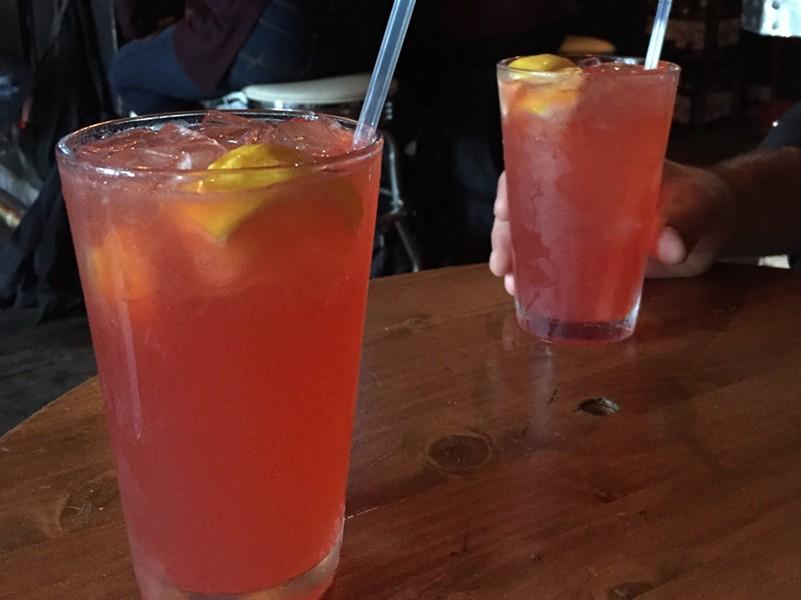 Slippery Lady cocktails at Radio Bean - SALLY POLLAK