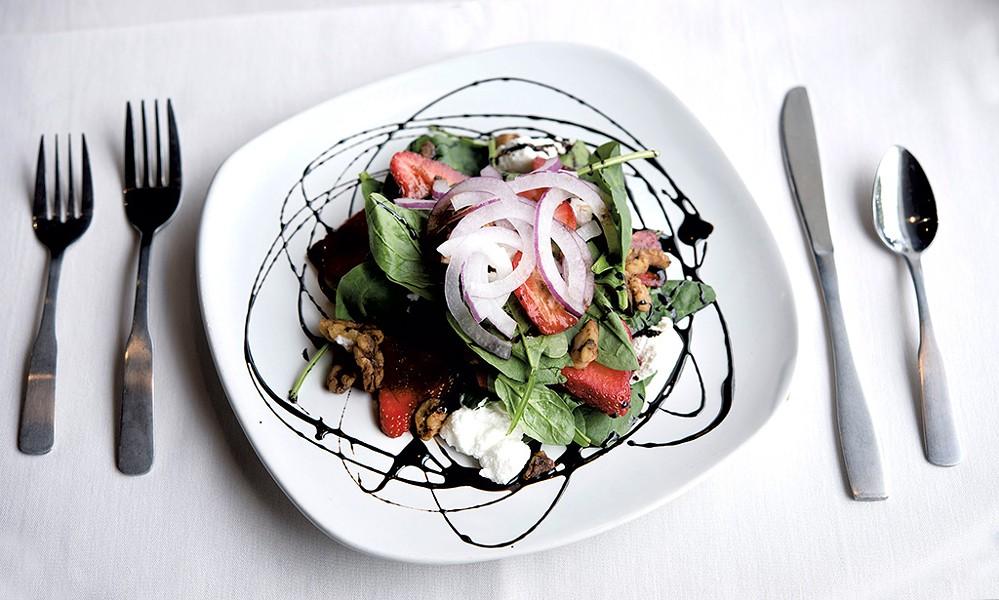 Summer salad - CALEB KENNA