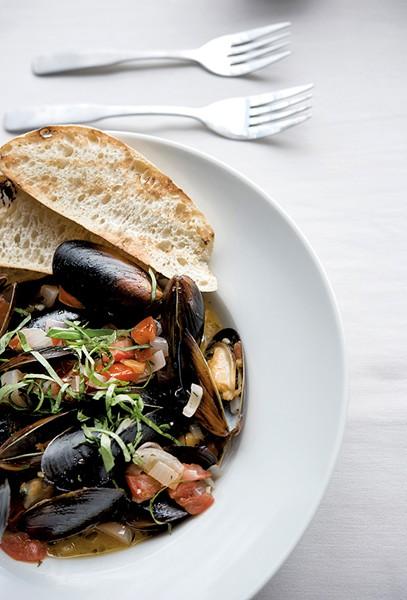 Mussels Renoir - CALEB KENNA
