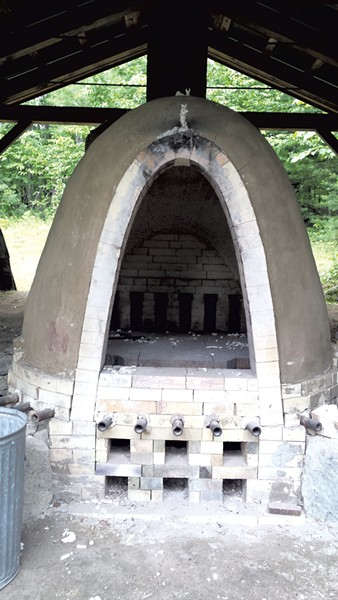 Wood-fired kiln - ELIZABETH M. SEYLER