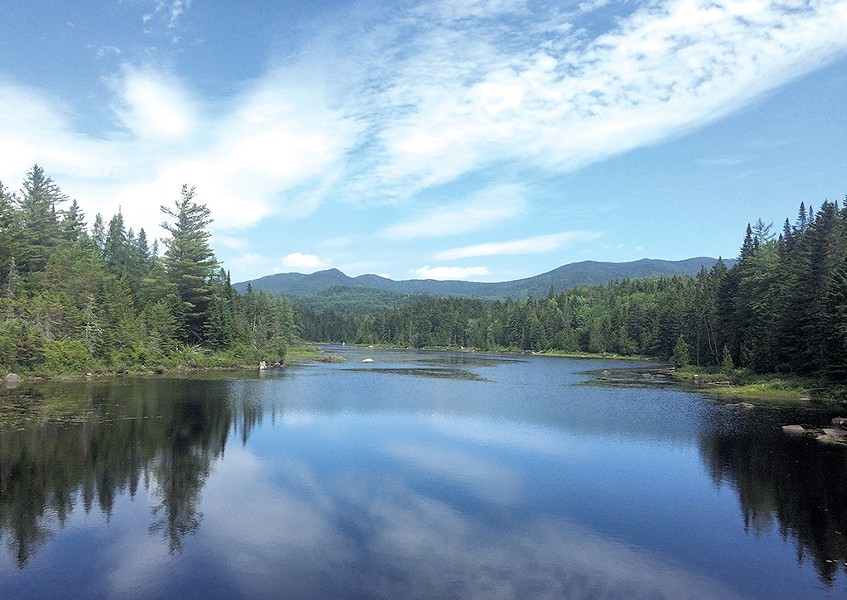 LaBier Flow in the Boreas Ponds tract - ALICIA FREESE