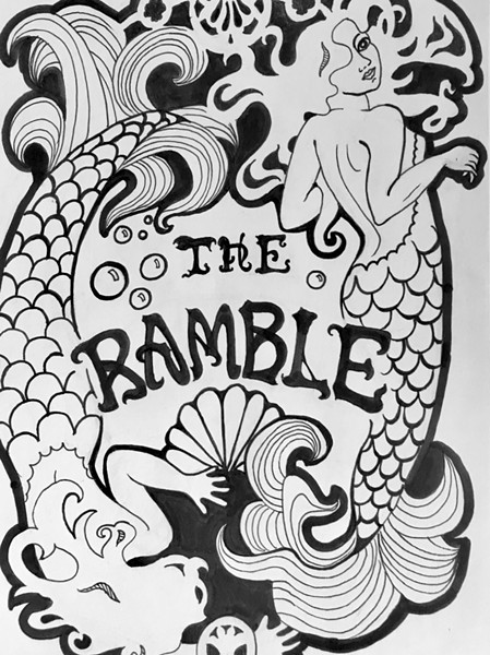 The 2017 Ramble T-shirt design - KARA TORRES