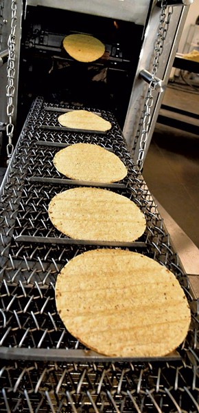 Tortillas at Vermont Tortilla - LEE KROHN