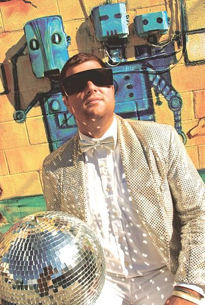 DJ Disco Phantom - MATTHEW THORSEN