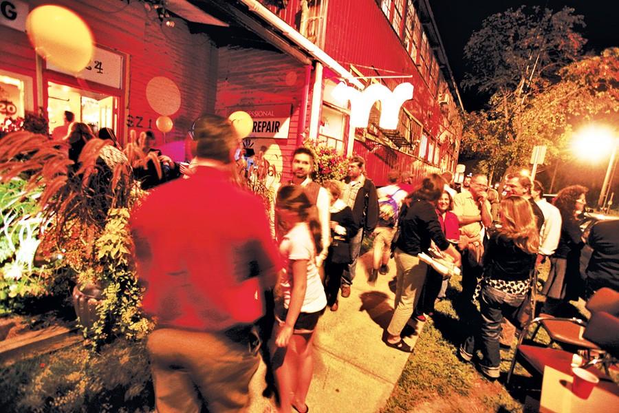 South End Art Hop - COURTESY OF SEABA