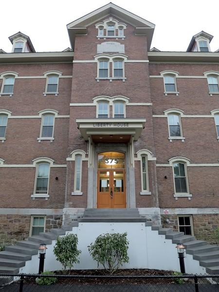 Entrance to the Liberty House - MATTHEW THORSEN