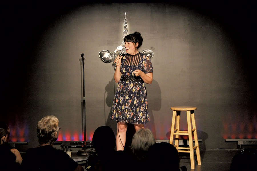 Annie Russell - COURTESY OF VERMONT COMEDY CLUB