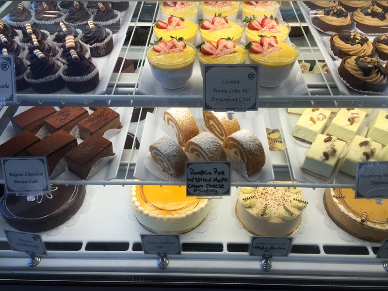Pastry case at Chef's Corner in Williston - SALLY POLLAK