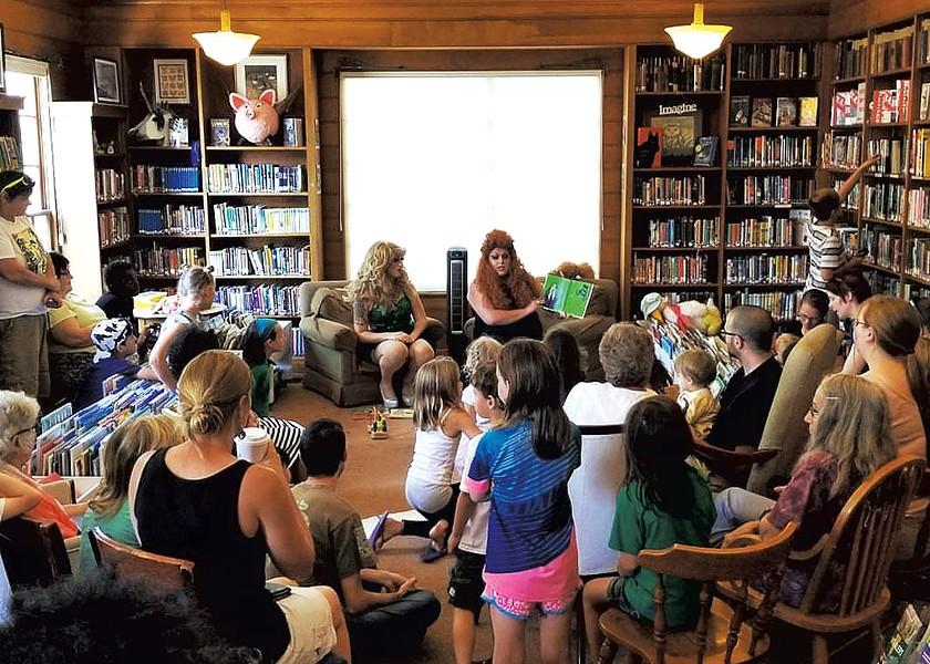 Drag Queen Story Hour at Varnum Memorial Library - COURTESY OF VARNUM MEMORIAL LIBRARY